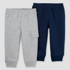Just One You by Carter's Bottoms - New Carters Baby Boy 2-pk Pants Set Sweatpants